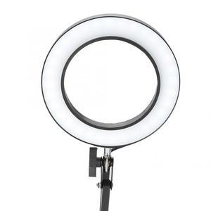 Image 2 - 5X lampa powiększająca mocowanie zaciskowe lupa z lampą LED lampy Salon Eyeliner Manicure tatuaż pielęgnacja skóry lampa z upiększającym efektem/lampa stołowa narzędzia do tatuażu