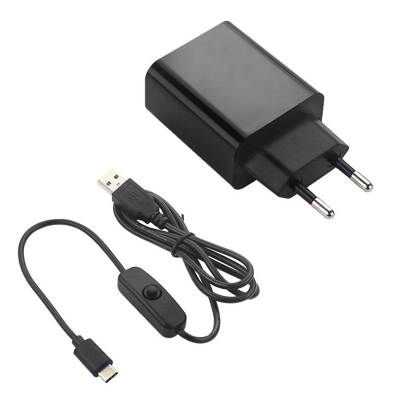 framboise-pi-4-b-adaptateur-secteur-5v-3a-alimentation-ue-prise-us-1m-commutateur-cable-usb-chargeur-de-fil-d'alimentation-pour-framboise-pi-4-modele-b