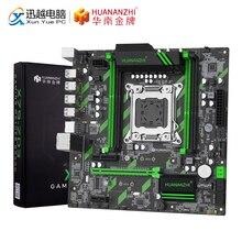 Huananzhi X79 ZD3 rev2.0 placa mãe para intel c602 x79 lga 2011 ecc reg ddr3 1866mhz 128gb m.2 nvme ngff M ATX servidor mainboard