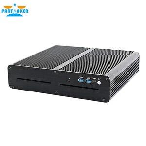 Игровой Мини ПК Intel i7-7820HK GTX 1650 GDDR5 4 ГБ 2 * DDR4 M.2 NVME 2LAN настольный компьютер Win10 4K HDMI2.0 DP DVI волоконно-оптический WiFi