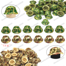 Helmet Hidden Cap Building Blocks Military Camouflage Benni Piece Army Forces Figures Weapons Set Moc Child Christmas Gifts Toys hidden christmas