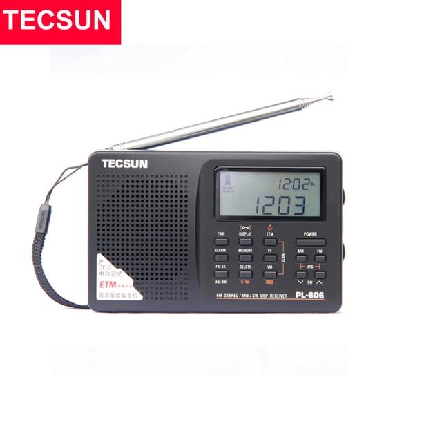 Радиоприемник TECSUN PL-606, PLL, FM/LW/SW/MW, DSP, Интернет-радио 1