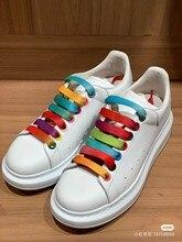 Tenis Sneakers yüksek kalite beyaz ayakkabı kadınlar için erkekler Lace Up lüks tasarımcı rahat Zapatos Hombres rahat çift ayakkabı