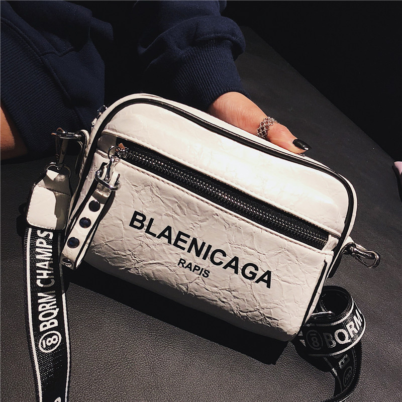 Bags Women 2020 Shoulder Bag Casual Fashion Crossbody Bags For Women Wide Shoulder Strap Shoulder Bag Women Bag Square HandBag