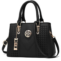 Embroidery Messenger Bags Women Leather Handbags Bags for Women 2019 Sac a Main Ladies Hand Bag Female bag new 1