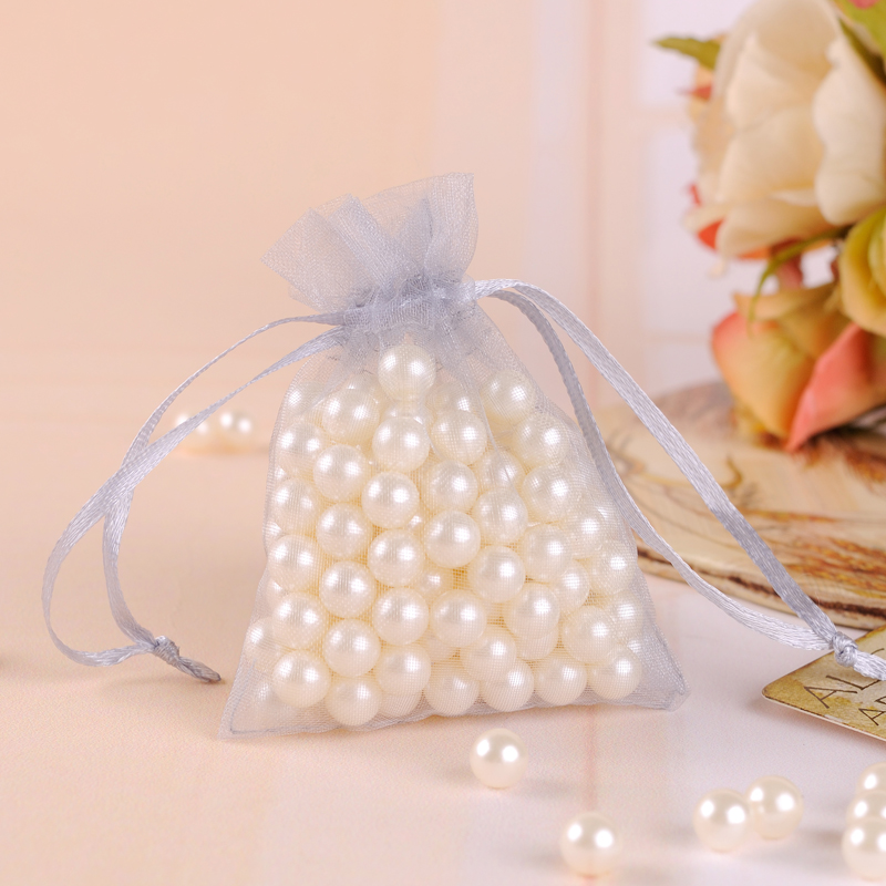 100 Pieces 20 Colors Multi-Colored Organza Gift Bags Wedding Party Favor  Jewelry Pouches Wrap 5 X 7cm