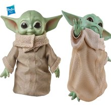 Yoda o mandalorian star wars grandes olhos do bebê yoda 16cm pvc figura de ação boneca brinquedos modelo coleção brinquedos para crianças