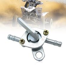 אופנוע 5mm גז מיכל דלק מתג זין ברז דלק Valve שסתום עבור טרקטורונים Quad עפר בור אופני וכו אוניברסלי אביזרי אופנוע