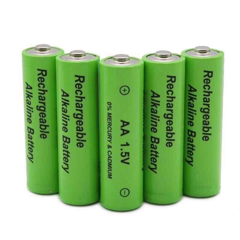 1,5 V neue label 4000 mAh akku AA 1,5 V. Wiederaufladbare neue Alcalinas batterie für licht emittierende diode spielzeug