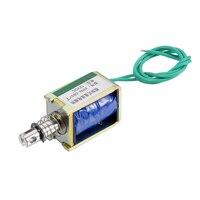 Uxcell XRN 0837T DC 12V 15N 10mm Push Pull Typ Open Frame Solenoid elektromagneten Hebewerkzeuge & Zubehör    -