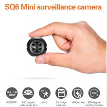 Mini Camera SQ6 Full HD 1080P Night Vision DV DVR Motion Detection Security Sensor Camcorde