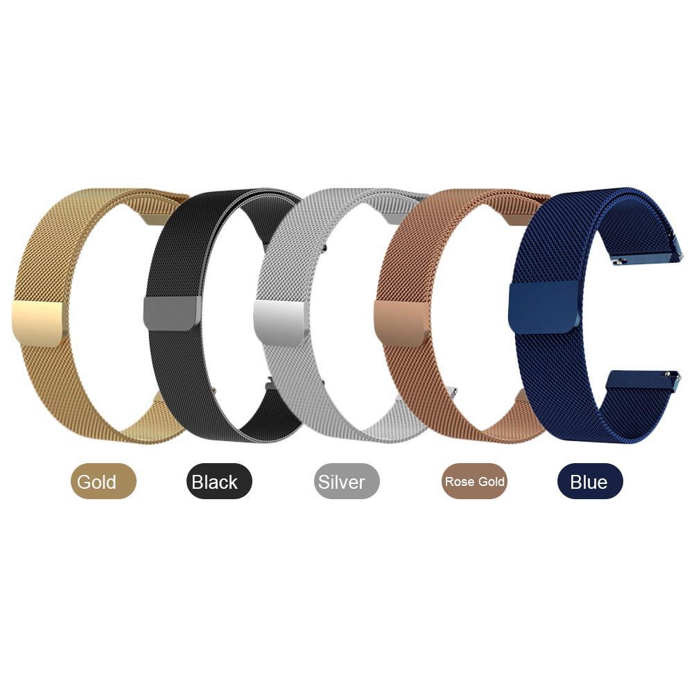 Ремешок для часов Fossil Gen 4 Q Venture HR/Gen 3, Миланская петля, магнитный ремешок для часов