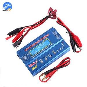 Image 1 - iMAX B6 Li ion Battery Charger RC Lipo NiMh NiCD Battery Power Bank Balancer Charge Discharger LCD Digital Display