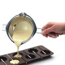Антипригарная сковорода, молочный кувшинчик для шоколада, растопленный шоколад, нагревательная сковорода, кастрюля, горячий горшок, сырный горшок с носиками