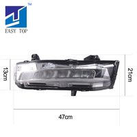 LED DRL Front Lamp OEM Type Turn Signal Light For Mustang 2018+