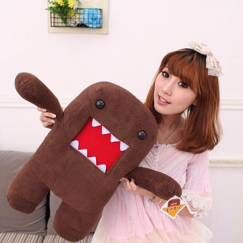 40 см японская плюшевая игрушка Домо кун игрушки креативные Kawaii Domokun Мультяшные плюшевые куклы игрушки детские игрушки подарок на день рождения|Мягкие игрушки животные|   | АлиЭкспресс