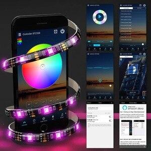 Image 4 - WIFI LED قطاع RGB ديود الشريط مرنة حبل ضوء 5M 10M 15M للماء شرائط جوجل المنزل اليكسا واي فاي LED تحكم 12V محول