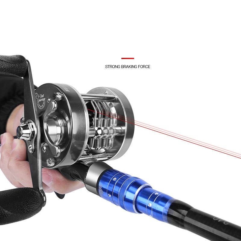 distante do rolamento de esferas roda corrico carretel carretilha de pesca 04