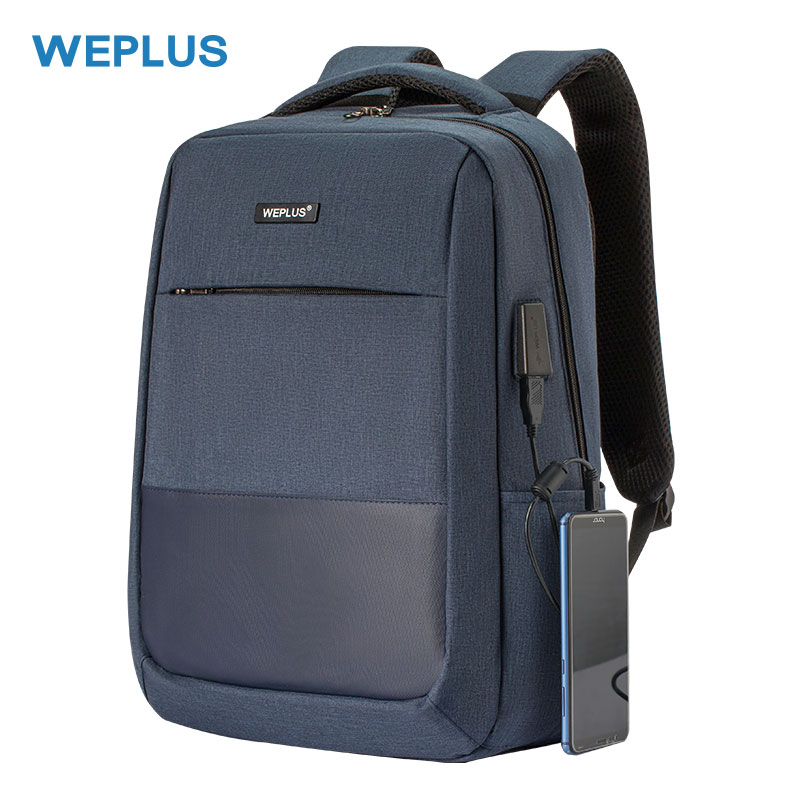 Woman Laptop Backpack 15.6 Inch Usb Charger Casual Bag Lightweight Travel Bags Waterproof Men Anti-theft Multi-function Daypack