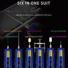 ช่างIR10 PRO OCAหน้าจอLCD Degummingพลั่วกาวชุดเครื่องมือปรับความเร็วกาวลบปากกาเครื่องบดยางแยก