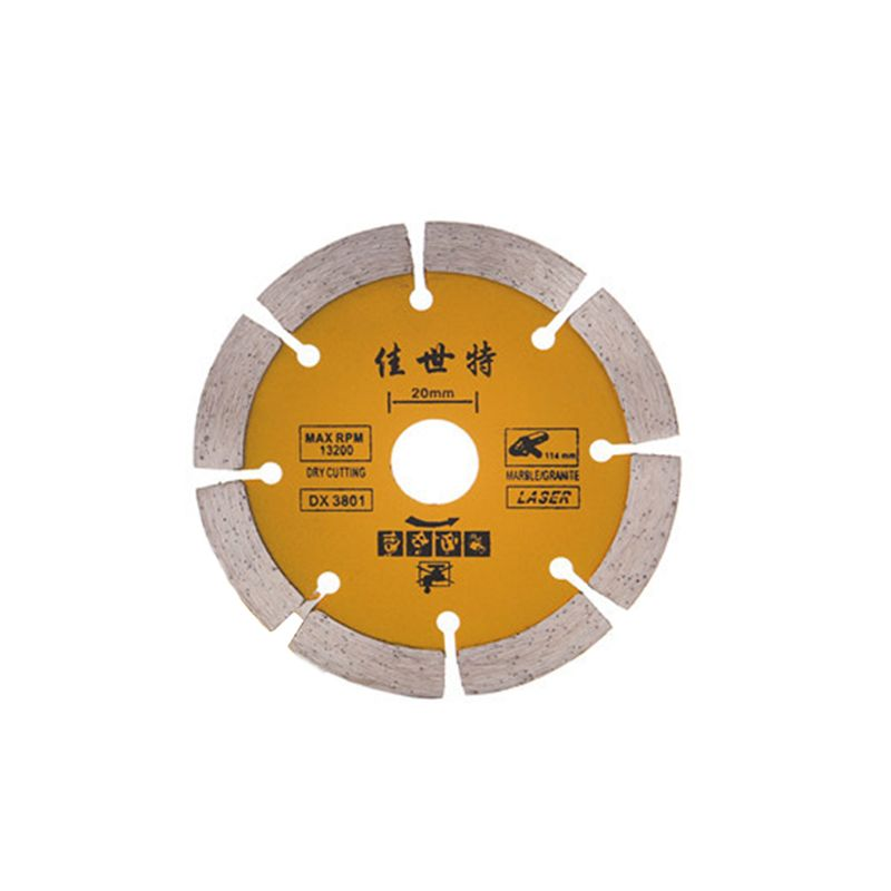 110mm Cutter Blades Diamond Saw Blade Angle Grinder Marble Stone Cutting Disc Ceramic Concrete