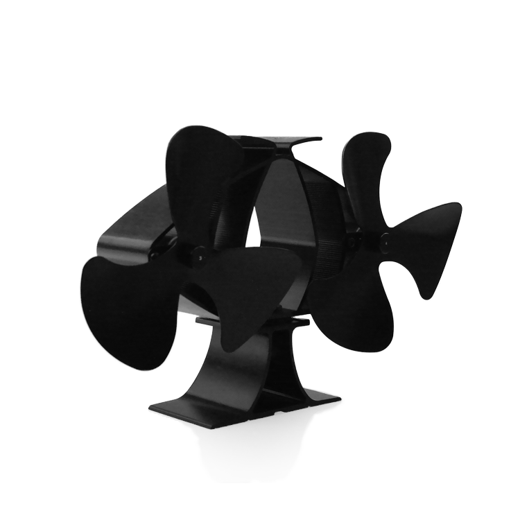 Stove Fan 6 Blades Wood Stove Fan/fan For Fireplace