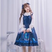 Victorian Dress Loli Jsk Lace Cosplay Sweet Princess Vintage Kawaii-Girl Cute Bowknot