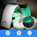 8 цветов светодиодный светильник терапия Лечение Акне горячая и холодная нано вода спрей омоложение кожи УФ стерилизация уход за кожей лица...