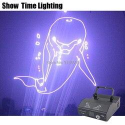 3D RGB Dj Laser Cartoon Bild Linien Strahl Volle Sterne DJ Dance Bar Kaffee Weihnachten Home Party Disco Effekt Beleuchtung licht System Zeigen