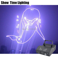 3D RGB Dj Laser Cartoon Image Lines Beam Full Stars DJ Dance Bar Coffee Xmas Home Party Disco Effect Lighting Light System Show