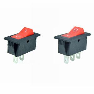 Red Button Car Rocker Boat Switch 12V 2 Position 2 Pin I/O ON/OFF 3 Pin ON/ON 28X13mm Snap-in Panel Mount 6A 250VAC/10A 125VAC(China)