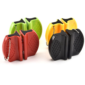 Camping Equipment Pocket Knife Sharpener Tool Ceramic Rod Tungsten Steel Outdoor Accessories Damascus Knives Kitchen Knives 4