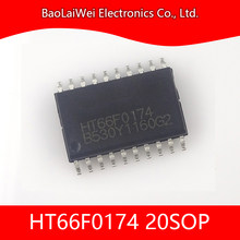 Composants électroniques à puce ic, 5 pièces, composants actifs intégrés, HT66F0172, HT66F0174, 20SOP 20SSOP