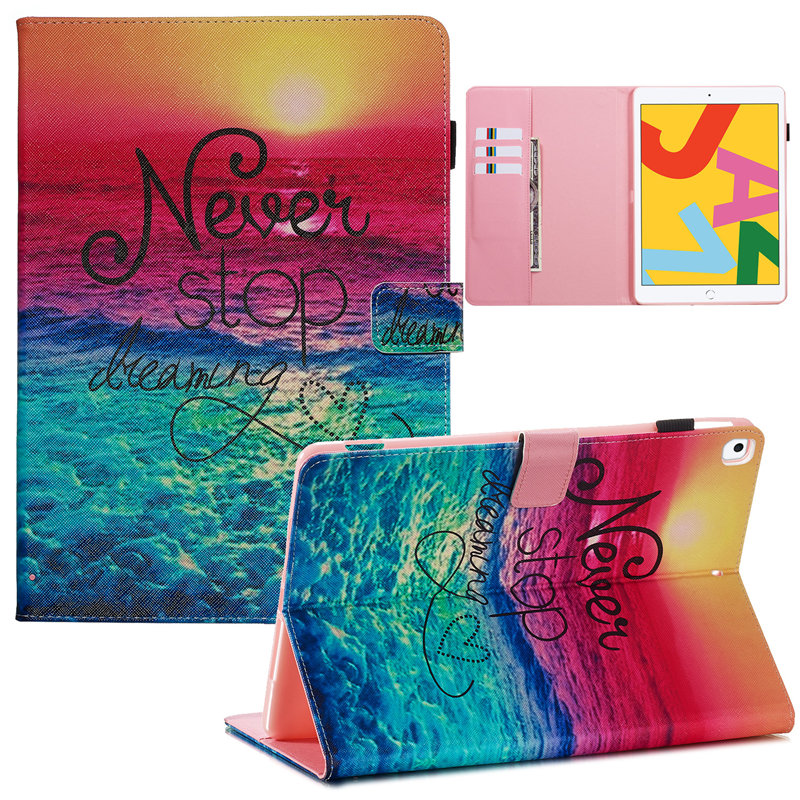 Case 10.2 For for Generation iPad 2019 iPad Cover A2232 Skin Apple 7th Smart A2200 Funda