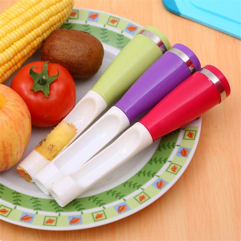 Apple Core Pitter Pear Twist Fruit Core Seed Remover pepper Remove Pit Kitchen Tool Gadget