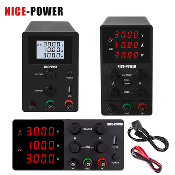 Hot Adjustable Switching DC Lab Bench Power Supply LCD Screen 60v 5a 30v 10a Digital Regulated Modul Laboratory Power Source image