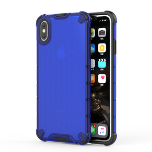 Image 4 - Honeycomb Rugged Hybrid Armor Case For iPhone 11 Pro XS Max XR XS X 8 7 6s 6 Plus Cover Transparent Shell  Accessories (XS0514)