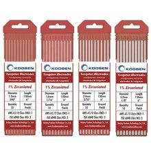 WZ3 Tungsten Electrodes 1.0 1.6 2.4 3.2mm  Brown Tig Welding Tungsten Electrodes