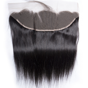 Image 5 - Straight Human Hair Bundles With Frontal Closure Brazilian Hair Weave Bundles With Frontal Closure 100% Human Hair Extensions