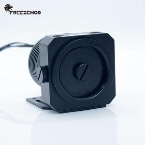 Image 2 - FREEZEMOD 국내 D5 pc 워터 쿨러 펌프 금속 갑옷 세트 마그네틱 서스펜션 PWM RGB AURA water cooling. PU GPD5