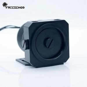 Image 2 - FREEZEMOD domestic D5 pc water cooler pump metal armor set magnetic suspension PWM RGB AURA water cooling. PU GPD5