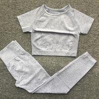 0308 Gray Top Pant