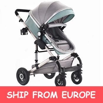 Wózek dziecięcy składany lekki przenośny wózek podróżny wysoki krajobraz wózek dziecięcy dla noworodka wózek dziecięcy wózek dziecięcy tanie i dobre opinie CN (pochodzenie) 0-3 M 4-6 M 7-9 M 10-12 M 13-18 M 19-24 M 2-3Y 30KG Numer certyfikatu Folding Baby Stroller