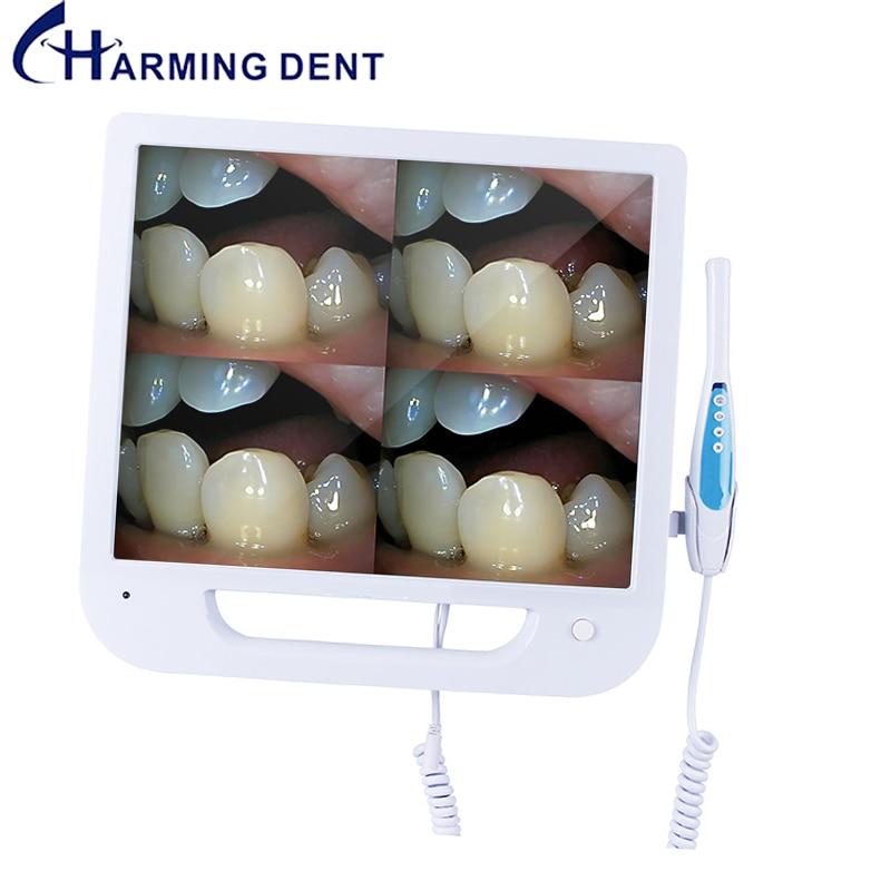 17 Inch Screen Dental Intra Oral Camera with Monitor Digital Intraoral Endoscope Camera CMOS VGA Scanner Medical Equipment Oral