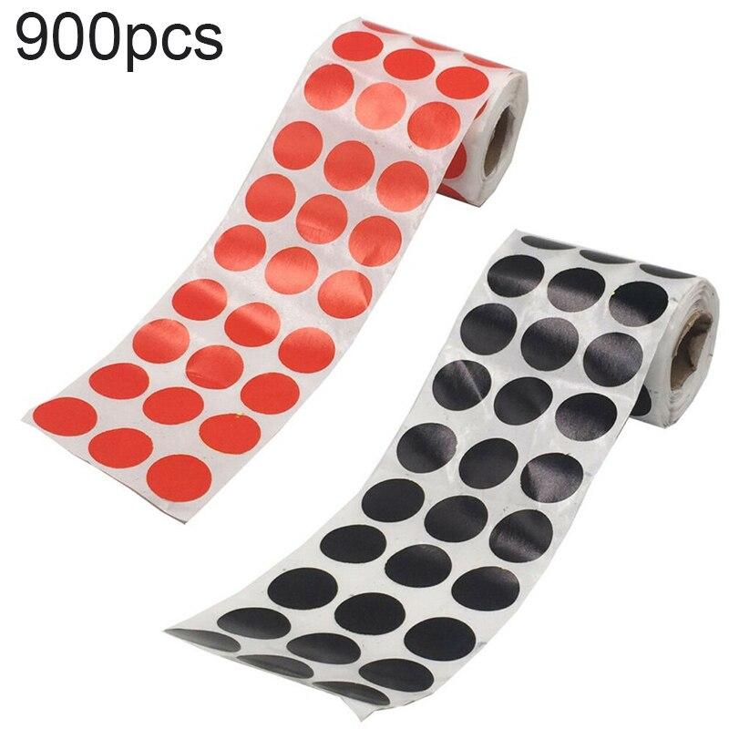 900pcs/Roll Self-adhesive Shooting Splatter Target Reactive Target Sticker