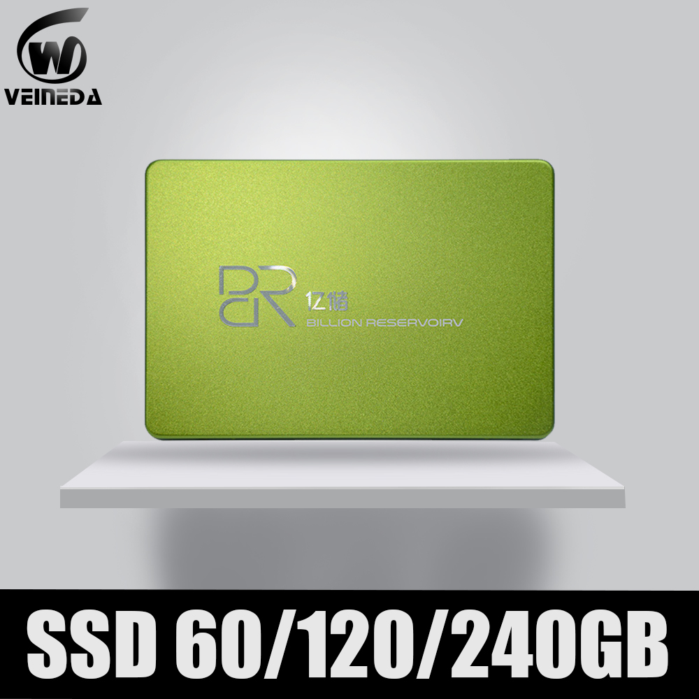 BR Ssd Hdd Disk 2.5' Ssd 60gb 120 Gb TLC SATA3 Solid State Disk Internal Hard Drive For Laptop Computer & Tablet Pc