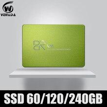 Disque dur interne ssd de 2.5 pouces, avec capacité de 60 go, 120 go, TLC, SATA3, pour ordinateur portable et tablette