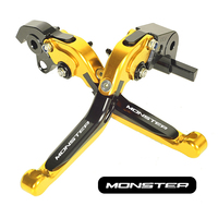 CNC Motorcycle Foldable Lever Motocross Brake Clutch Levers Case for Ducati 796 MONSTER 2011 2012 2013 2014