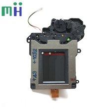 وحدة مصراع نيكون D7000 D7100 D7200 مستعملة مع محرك شفرة الستار تجميع مكون جزء الكاميرا إصلاح قطع الغيار