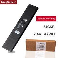 KingSener 7.4V 47WH 34GKR Laptop Battery For DELL Latitude E7420 E7440 E7450 3RNFD V8XN3 G95J5 34GKR 0909H5 0G95J5 5K1GW